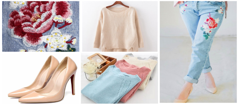 Джинсы 2017 года модные тенденции с вышивкой