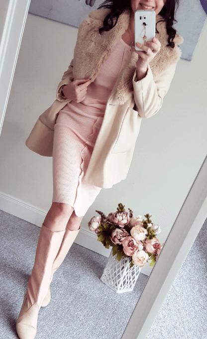 Платье на покупательнице