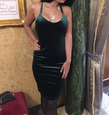 Реальная фотография платья от покупательницы