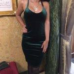 Недорогое бархатное платье с Aliexpress