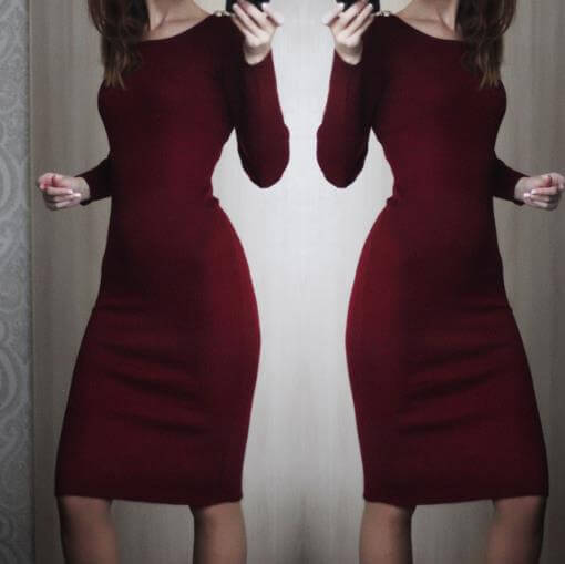 Красивое платье с Aliexpress