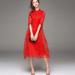 Красное платье алиэкспресс  по доступным ценам