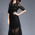 Кружевное платье алиэкспресс