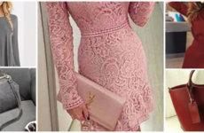 Создание модного лука: цветовое сочетание сумки и платья