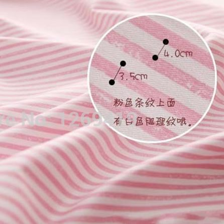 Набор из 5 отрезов розового цвета ~ 315 руб