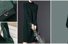Создание модного лука: изумрудный цвет