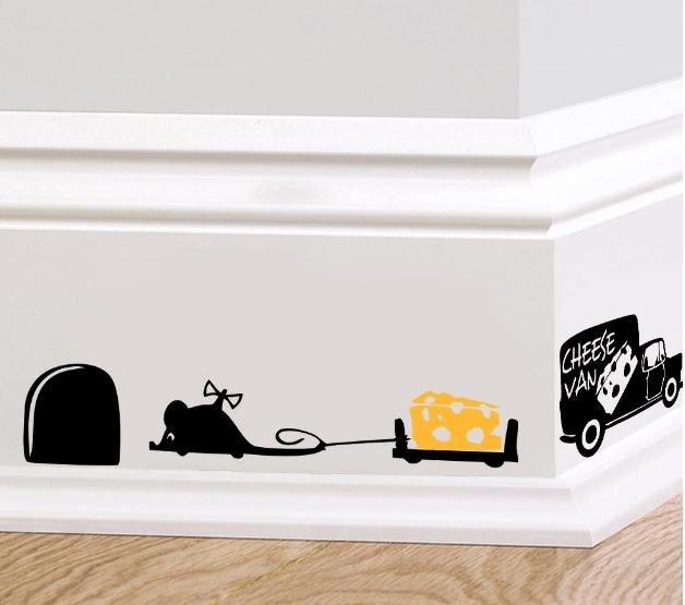 Декоративная наклейка на стену « Мышата» ~ 41 руб