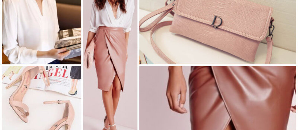 Хит сезона: кожаная юбка-карандаш