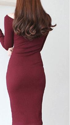 Платье бордовое ~ за 674 руб.