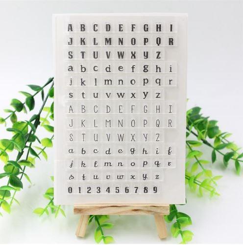Штамп алфавит ~ 125 руб