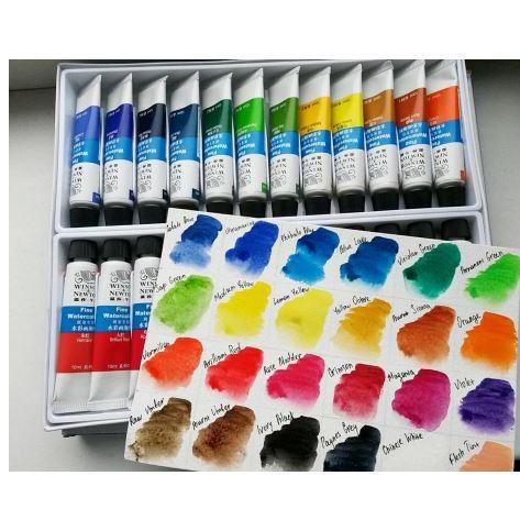 Набор красок Winsor & Newton ~ 1200 руб