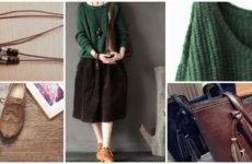 Утепляйся: вельветовая юбка-миди