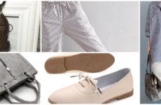 Укороченные широкие штаны-шаровары для городской модницы