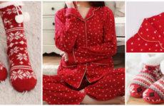Готовимся к праздникам: Пижама в новогоднем стиле
