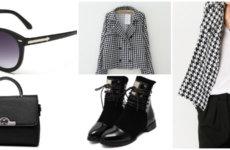 """Пиджак с принтом """"гусиная лапка"""": с чем носить?"""