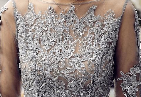 Серое платье ~ за 1726 руб.