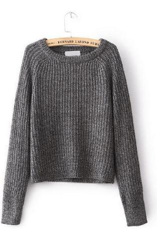 Серый свитер ~ за 1495 руб.