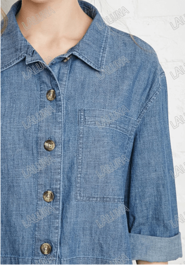 Джинсовая рубашка ~ за 1756 руб.