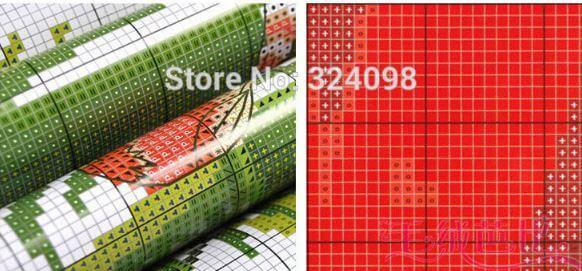 Набор для вышивки Пуансеттия ~ 240 руб