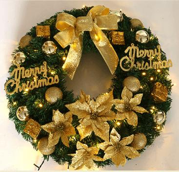 Большой рождественский венок ~ 5350 руб