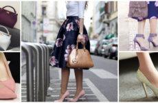 Модная ретро-юбка с крупным цветочным принтом