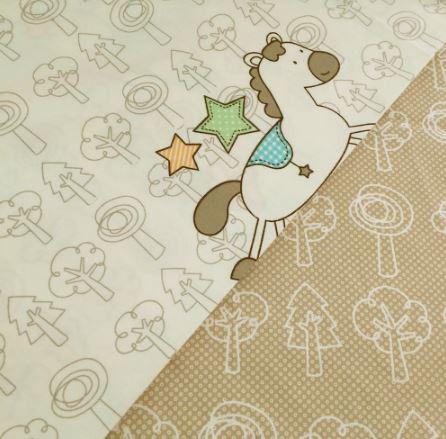 Ткань детская хлопковая метражом ~ 523 руб