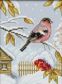 Набор для вышивки крестиком Птицы ~ 350 руб