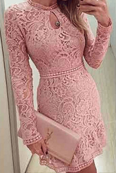 Платье  розовое ~ за 561 руб.
