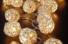 Идеи новогодних гирлянд для дома