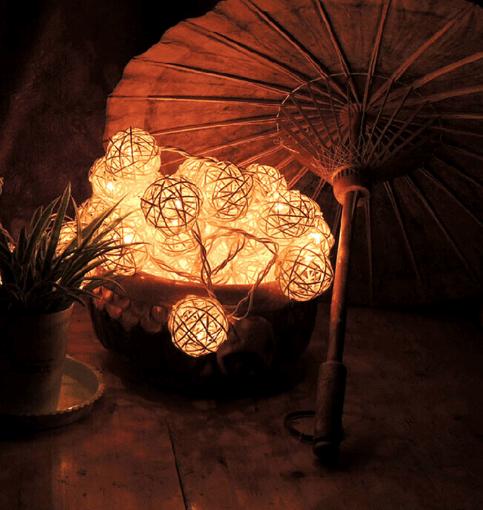 Новогодняя гирлянда «Шарики» ~ 309 руб