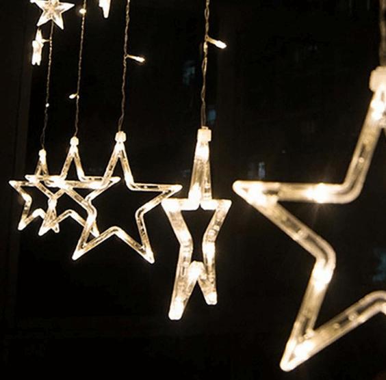 Новогодняя гирлянда «Звезды» ~ 890 руб