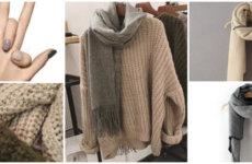 Объемный свитер на каждый день
