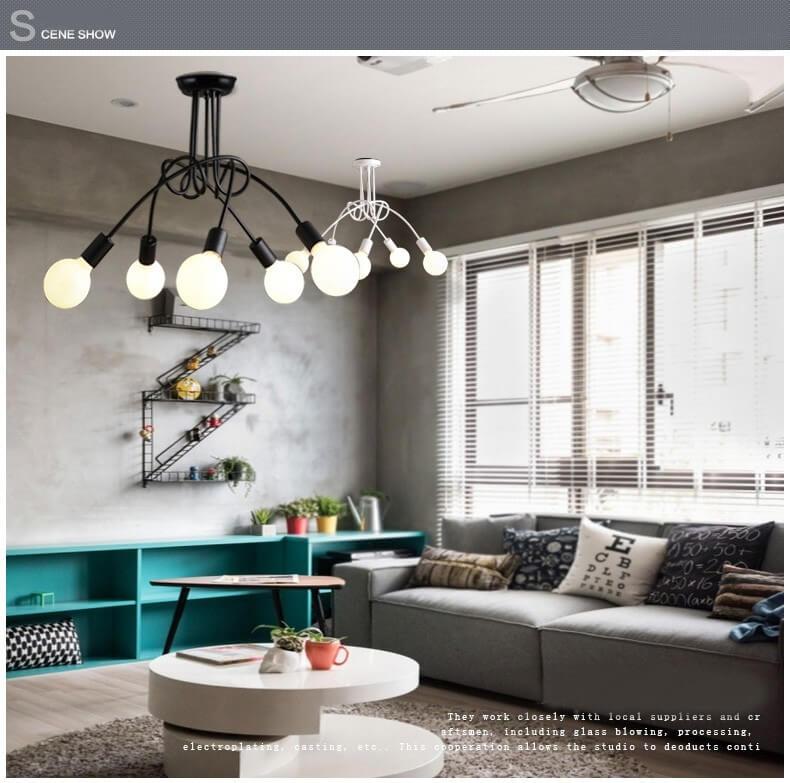 Необычная лампа в современном стиле ~ 3500 руб