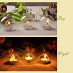 Создаем уют в доме: стеклянные подсвечники