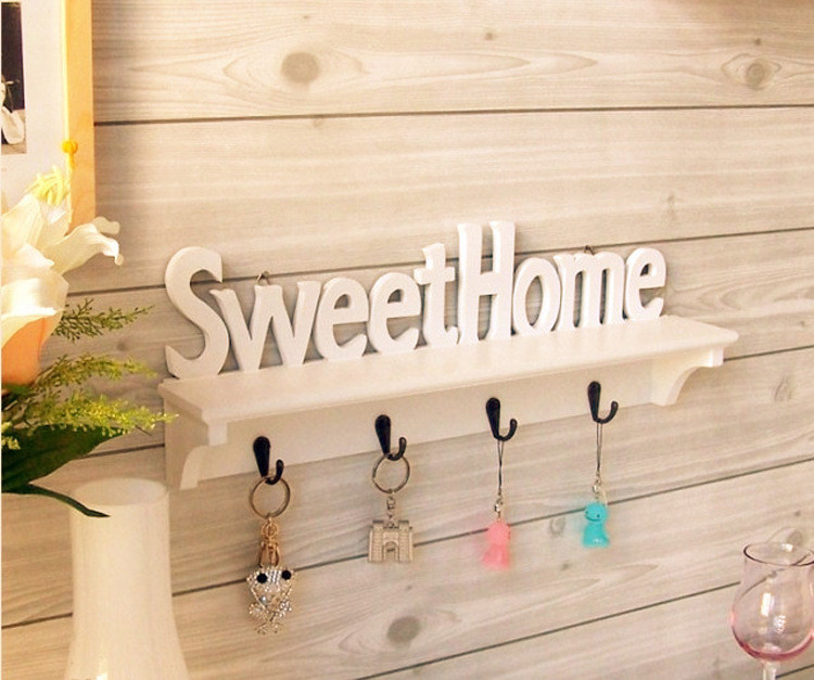 Деревянная ключница «Милый дом» ~ 800 руб