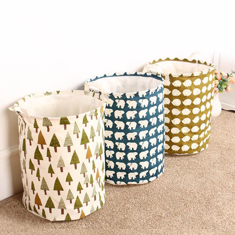 Текстильные контейнеры-корзины ~ 680 руб