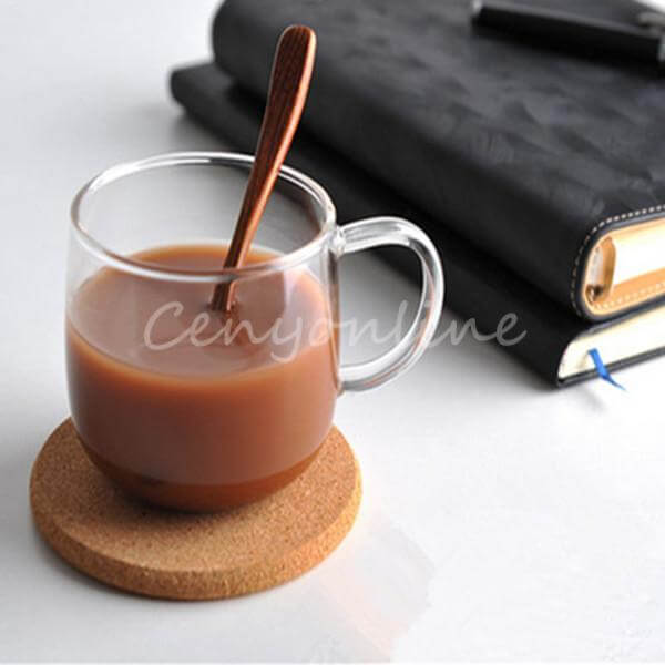 Пробковые подставки под чашки и бокалы ~ 370 руб