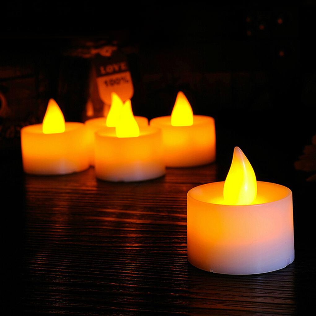 Комплект из пяти чайных свечей ~ 150 руб