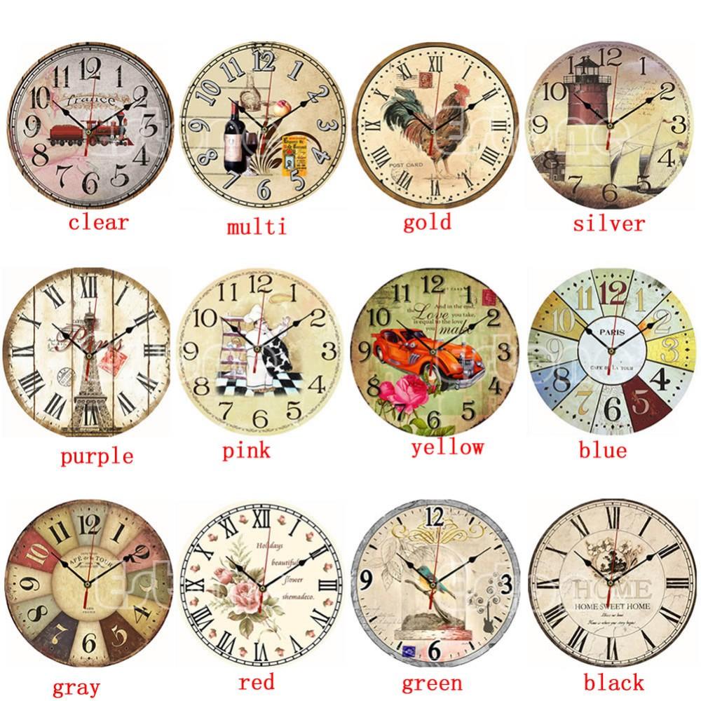 Деревянные настенные часы ~ 500 руб
