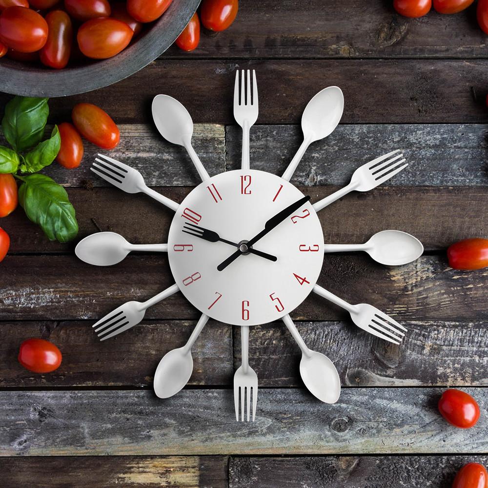 Настенные часы «Столовые приборы» ~ 700 руб
