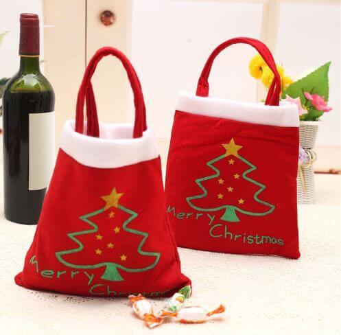 Мешки-сумки для подарков ~ 100 руб