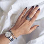 Кольцо Umode в виде шеврона с Aliexpress за 650 рублей