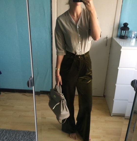 Бархатные брюки с Aliexpress