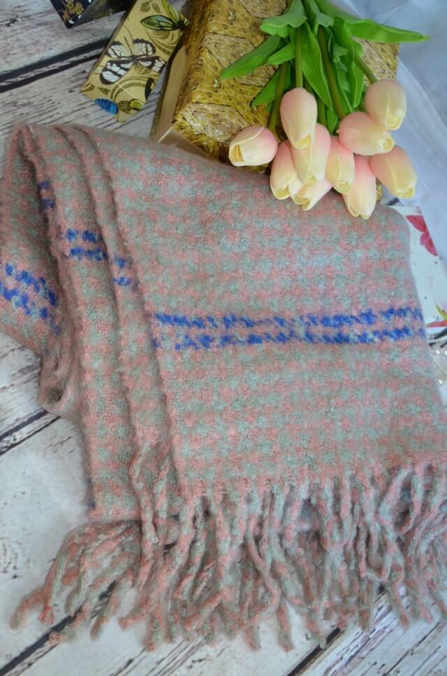 Крутой шерстяной шарф с Aliexpress