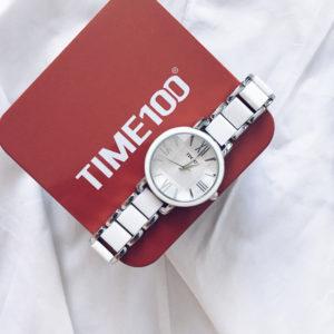 Кварцевые наручные часы с керамическими ремешком с Aliexpress за 1800 рублей