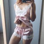 Атласная пижама с Aliexpress за 1000 рублей