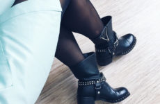 Ботинки из натуральной кожи в стиле MIU MIU Aliexpress за 5500 рублей