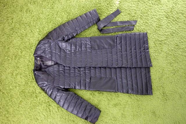 Пальто с ремешком