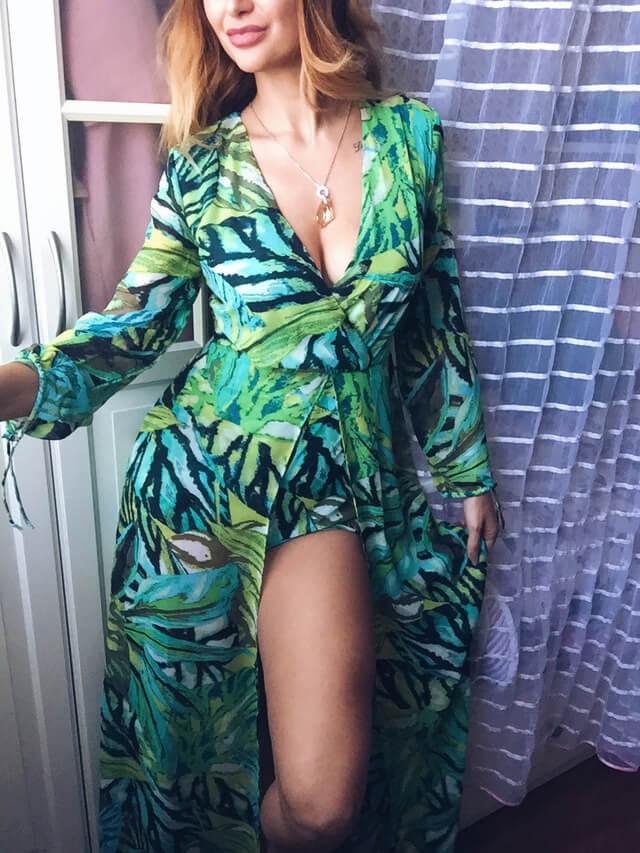 Платье-комбинезон а Aliexpress