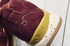 Кроссовки из натуральной замши бренда MERRTO с Aliexpress за 3000 рублей